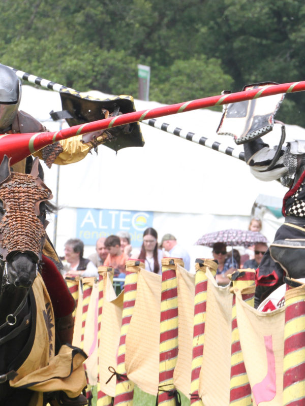Jousting at Shane's Castle, Lough Neagh