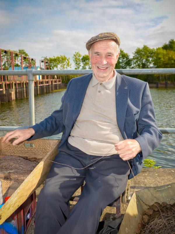 Lough Neagh Eel Fisherman Eammon Moore