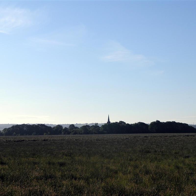 Church Island on Lough Beg